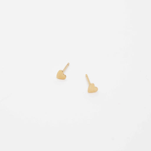 Gold Fill Mini Heart Stud-KP Jewelry Co-Crying Out Loud