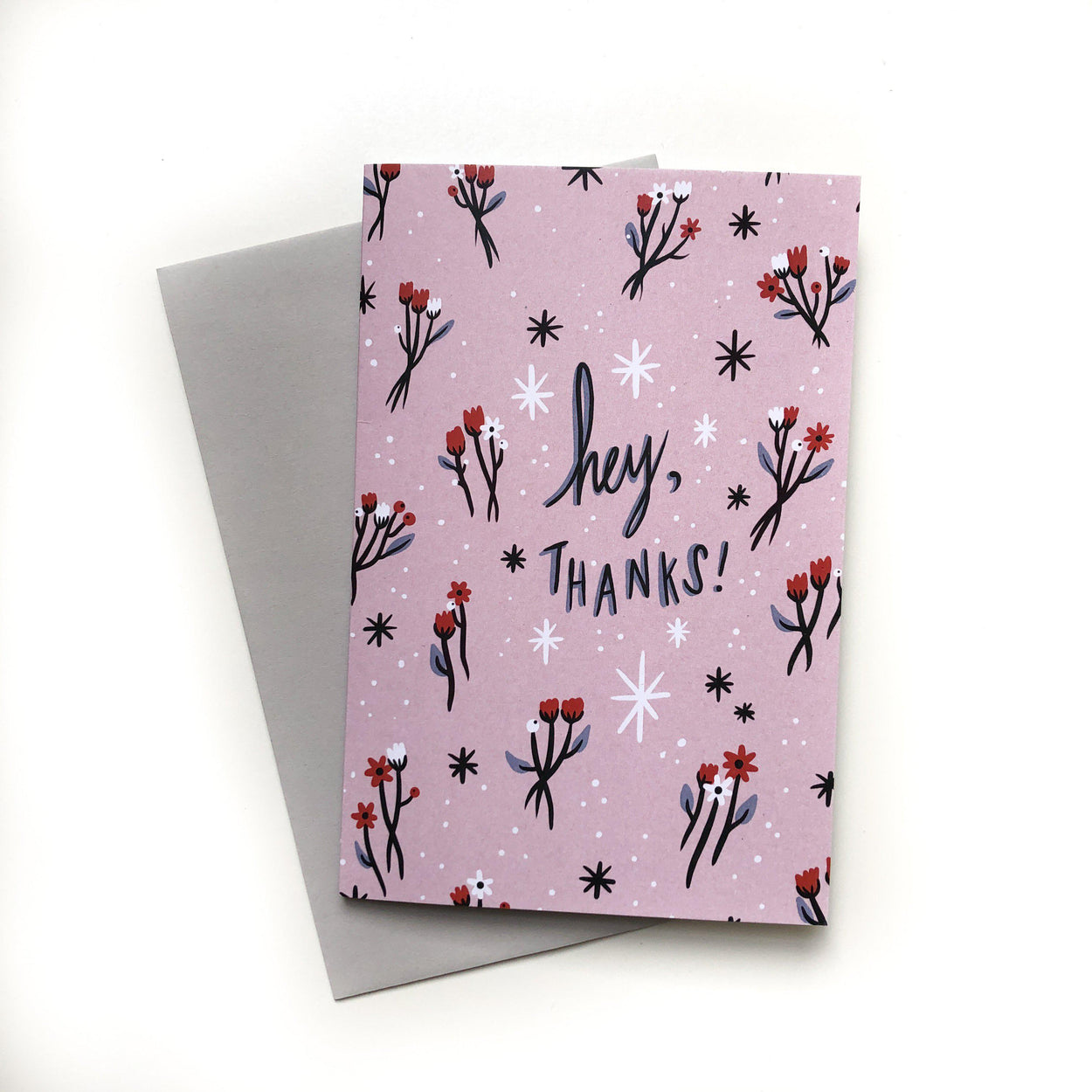'Hey, Thanks' Card-Stay Home Club-Crying Out Loud