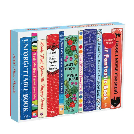 Ideal Bookshelf: Universal 1000 Piece Puzzle-Puzzle-Galison-Game-Crying Out Loud