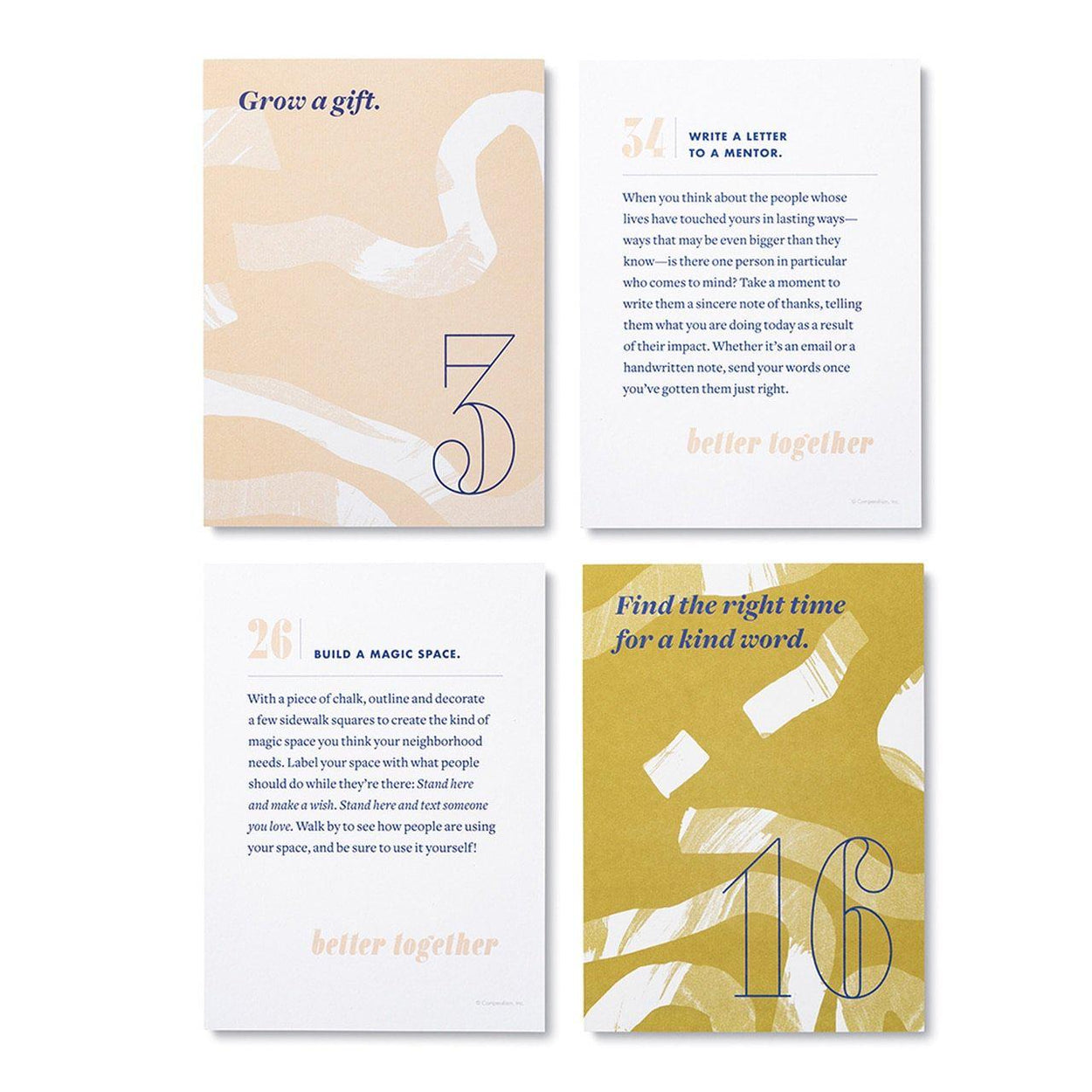 Better Together Card Set-Reflection Cards-Compendium-Crying Out Loud