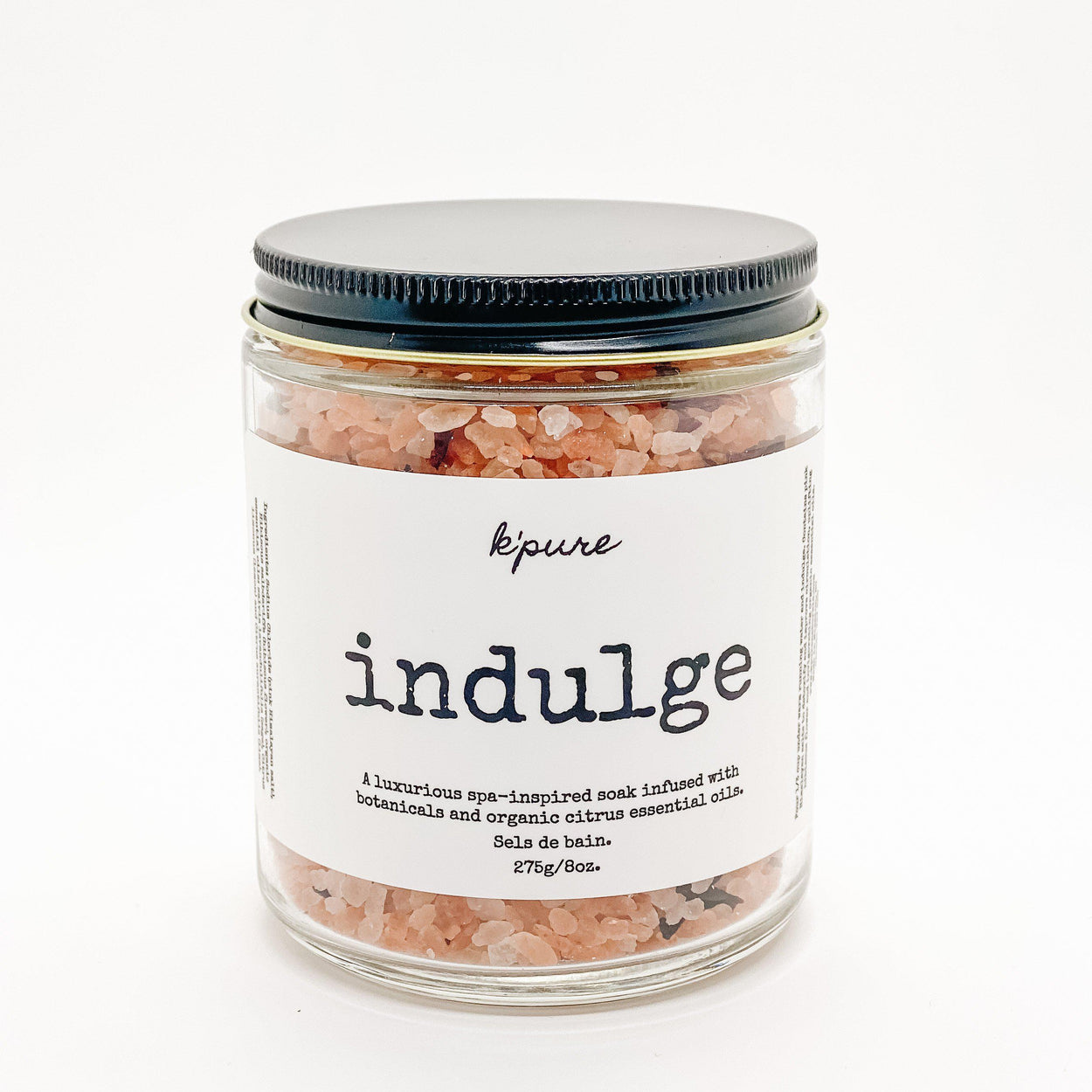 Indulge Bath Soak-K'Pure-8 oz-Crying Out Loud