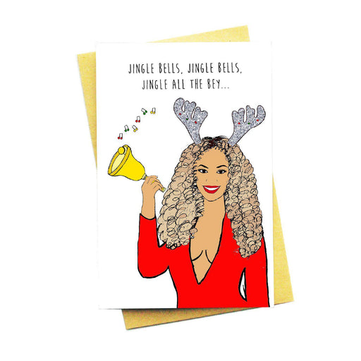 Jingle All The Bey Card-Card-Nocturnal Paper-Crying Out Loud