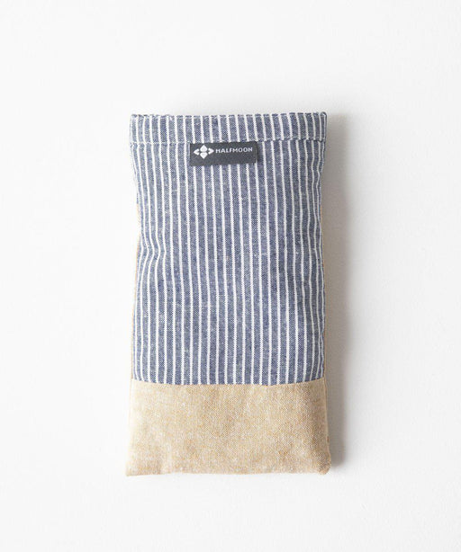 Linen Eye Pillow with Lavender - Pinstripe/Straw-Half Moon-Crying Out Loud