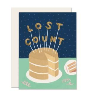 Lost Count Birthday Card-Slightly-Crying Out Loud