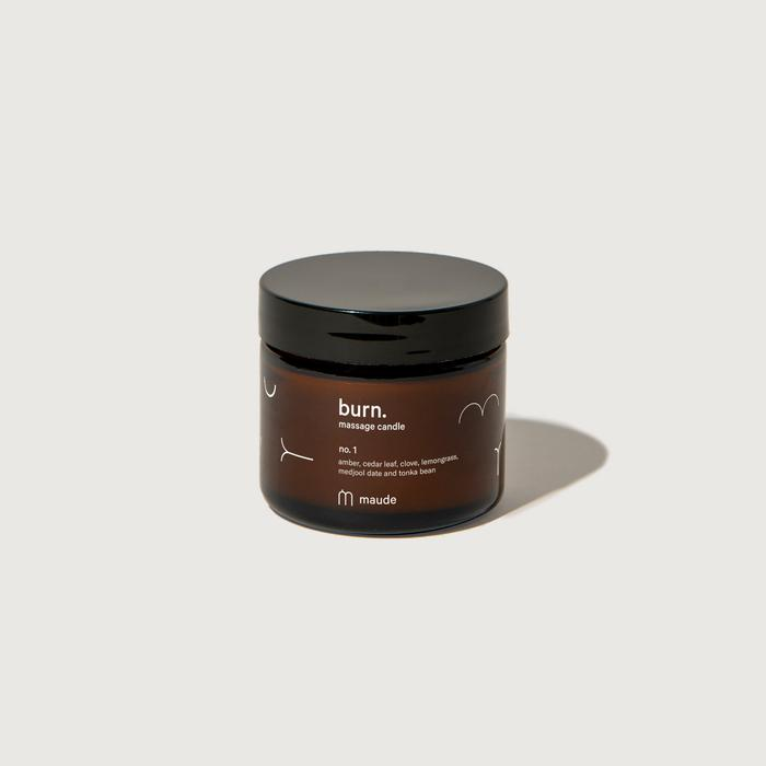 Burn no. 1 Massage Candle-Maude-Crying Out Loud