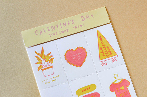Galentine's Day Tear-Apart Card Pack
