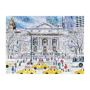 Michael Storrings New York Public Library 1000 Pc Puzzle-Galison-Crying Out Loud