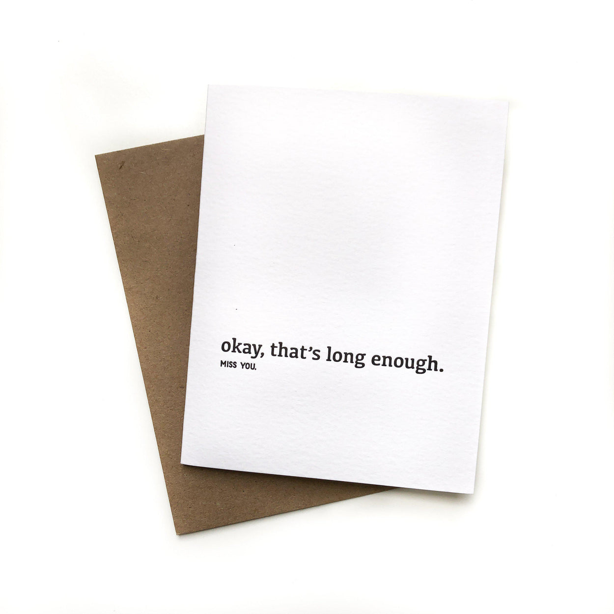 Miss You Card-Sapling Press-Crying Out Loud