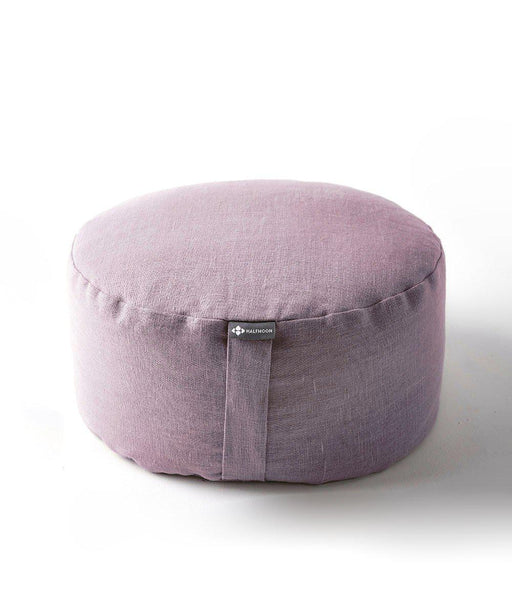 Mod Meditation Cushion - Fig Linen-Half Moon-Crying Out Loud