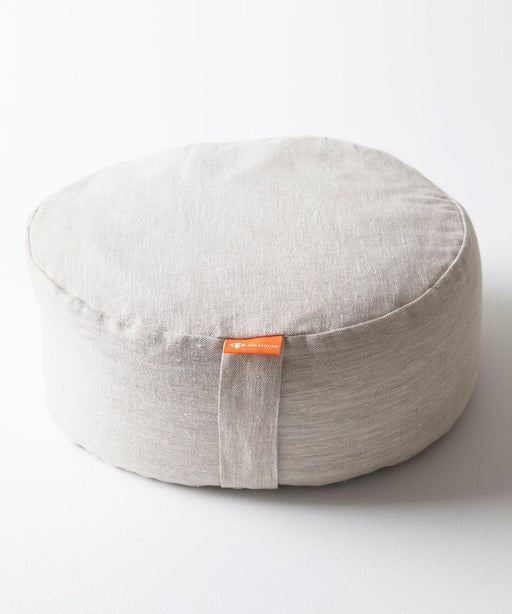 Mod Meditation Cushion - Natural Linen-Half Moon-Crying Out Loud