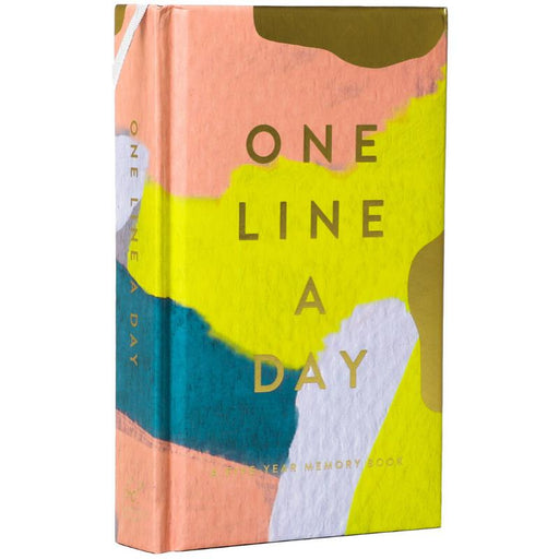 Modern One Line a Day: A Five-Year Memory Book-Chronicle Books-Notebook / blank book-Crying Out Loud