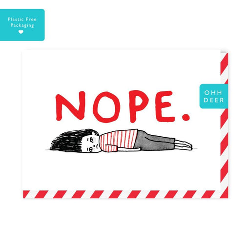 'Nope' Card-Ohh Deer-Crying Out Loud