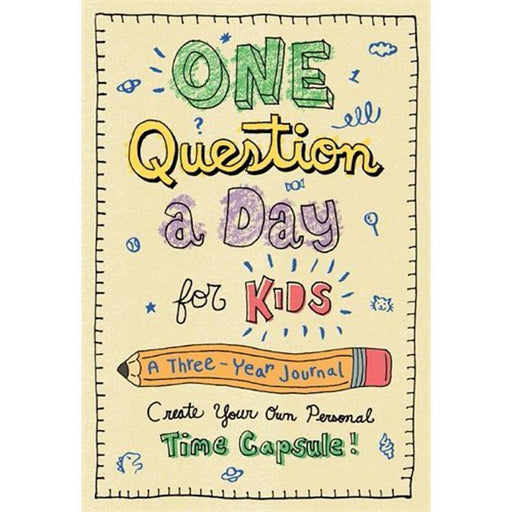 One Question a Day for Kids: A Three-Year Journal-Aimee Chase-Hardback Paper over boards-Crying Out Loud