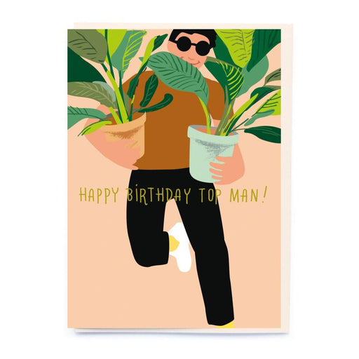Plant Pots Birthday Card-Noi Publishing-Crying Out Loud