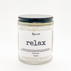 Relax Bath Soak-Bath Product-K'Pure-8 oz-Crying Out Loud