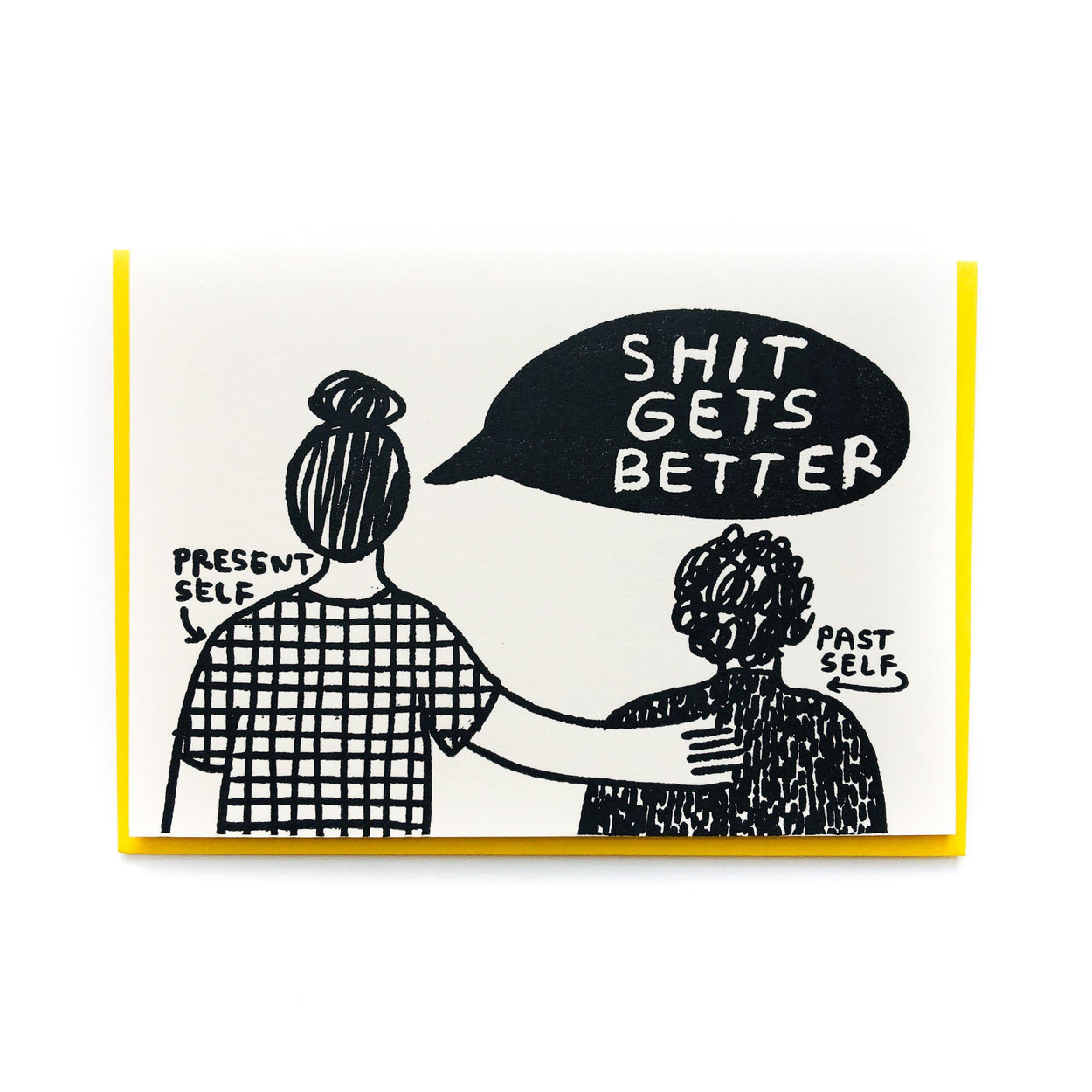 'Shit Gets Better' Card-People I've Loved-Crying Out Loud