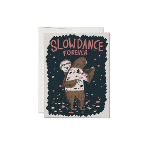 'Slowdance Forever' Sloths Card-Red Cap Cards-Crying Out Loud