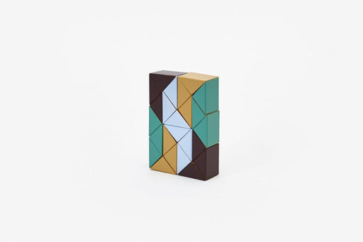 Snake Blocks - Small-Areaware-Beige Green-Crying Out Loud