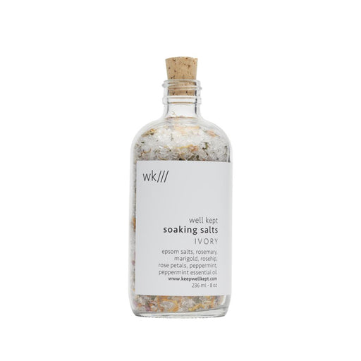 Soaking Salts - Ivory-Bath Salt-well kept-Crying Out Loud
