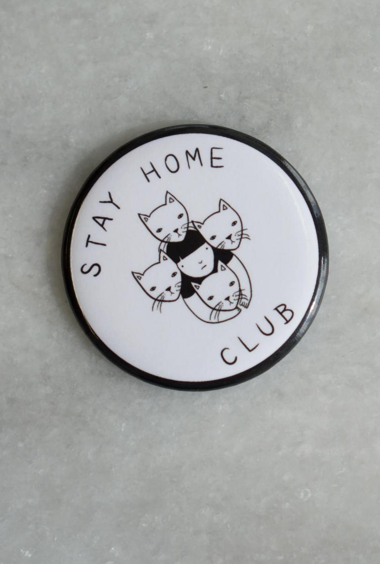 Stay Home Club Magnet-Stay Home Club-Crying Out Loud