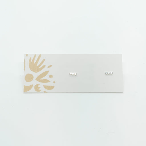 Sterling Silver 3 Dot Studs-Devi Arts Collective-Crying Out Loud