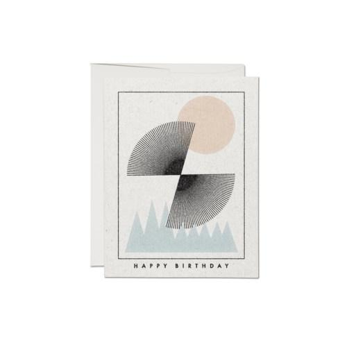 Sun Over Mountains Birthday Card-Red Cap Cards-Crying Out Loud