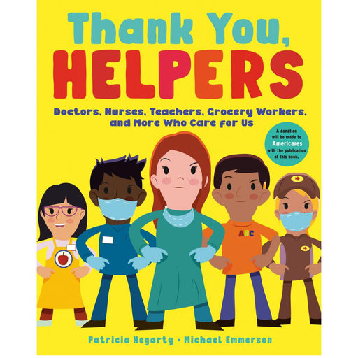 Thank You, Helpers-Patricia Hegarty-Crying Out Loud