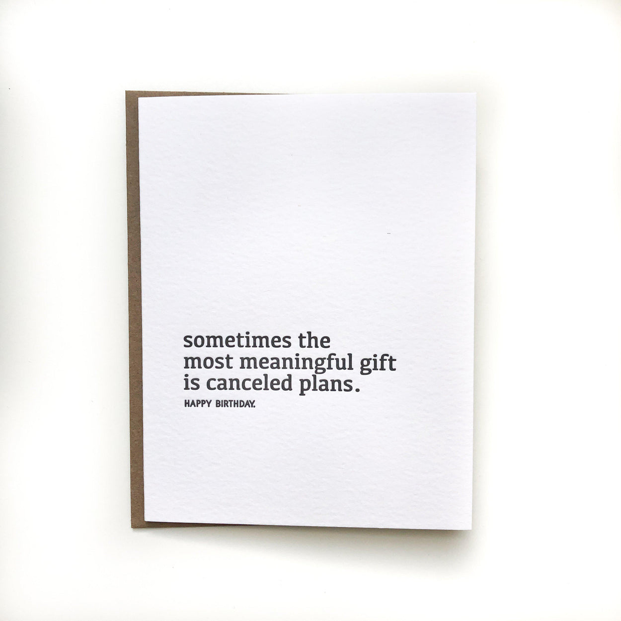 The Most Meaningful Gift Birthday Card-Sapling Press-Crying Out Loud