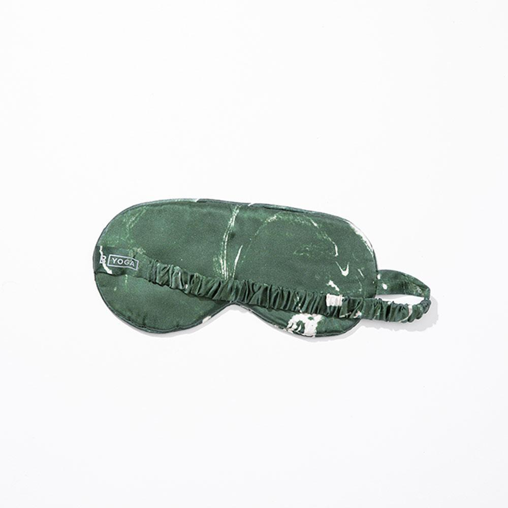 The Silk Sleep Mask - Marbled Emerald-B Yoga-Crying Out Loud