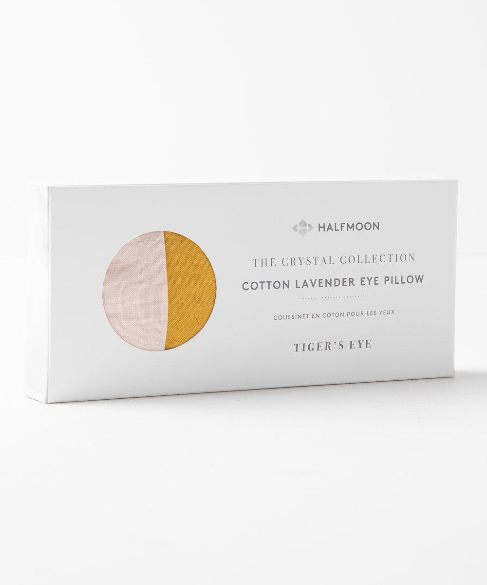 Tiger's Eye Crystal Eye Pillow-Half Moon-Crying Out Loud