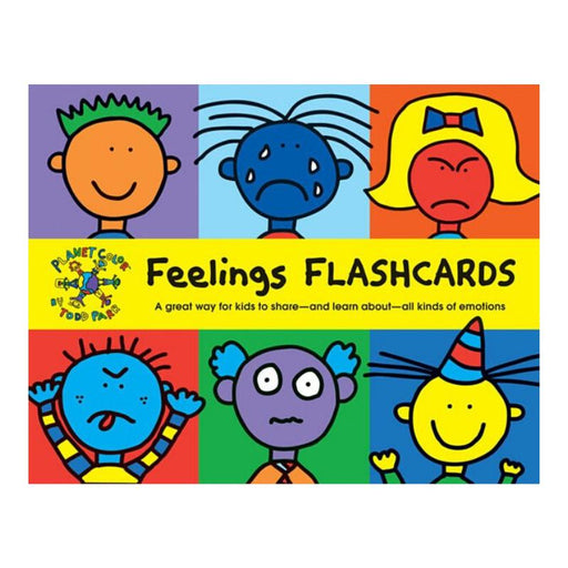 Todd Parr Feelings Flash Cards-Todd Parr-Cards-Crying Out Loud