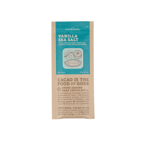 Vanilla Sea Salt Chocosol Bar-Chocosol-Crying Out Loud