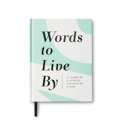 Words To Live By - A Guided Journal-Compendium-Crying Out Loud