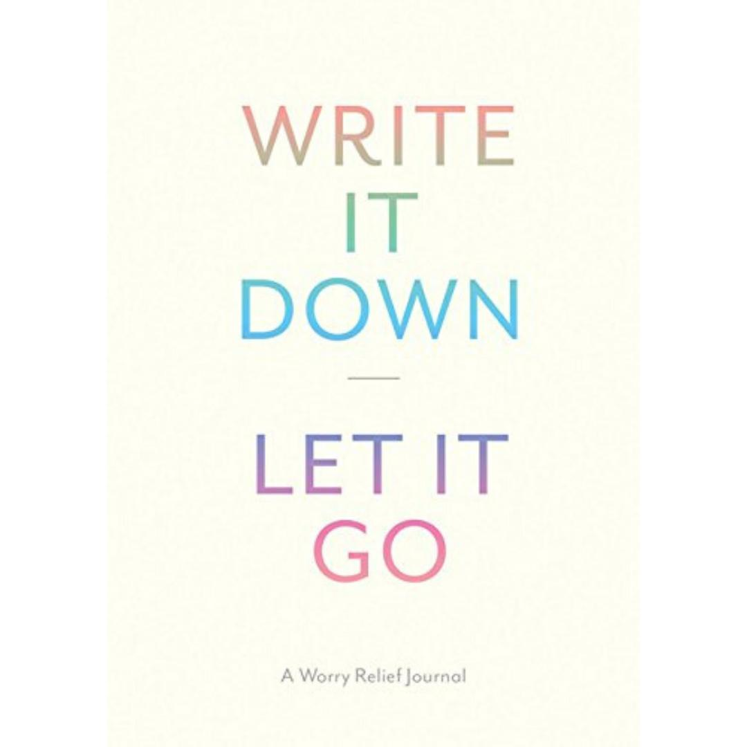 Write It Down, Let It Go-Lindsay Kramer-Notebook / blank book-Crying Out Loud