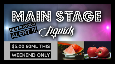 MAIN STAGE NEW FLAVOUR !!!
