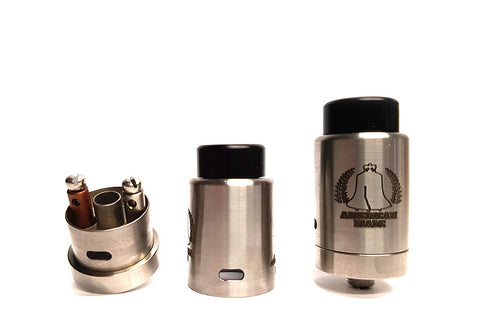 "Vaping American Made Products - ""Dually"" RDA   Authentic - Buck-Vape"