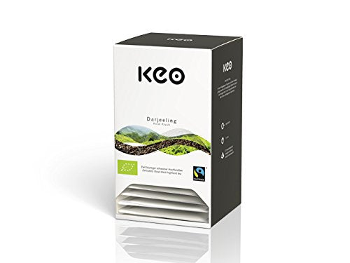 Keo Tee - DARJEELING FIRST FLUSH - Bio & Fairtrade 20 Pyramidenbeutel