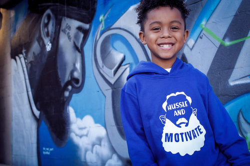 Hussle and Motivate Kids shirt