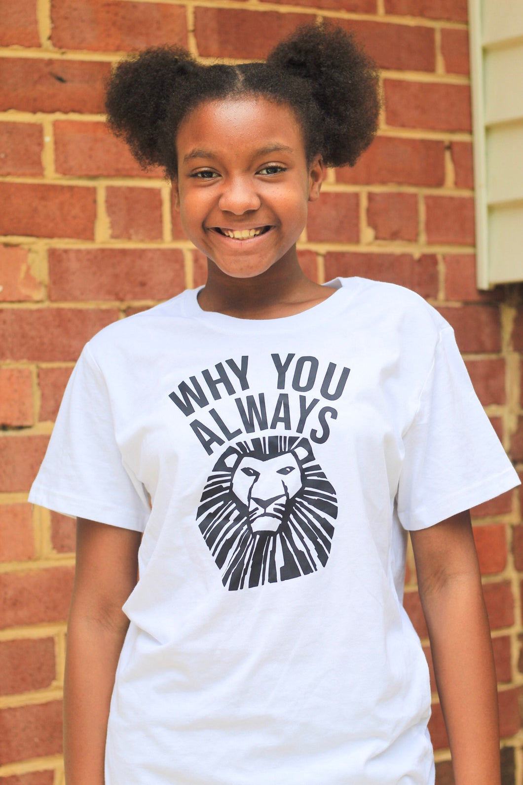 Why You Always Lion Adults Shirt