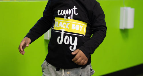 Count it all Black Boy Joy Adults Shirt