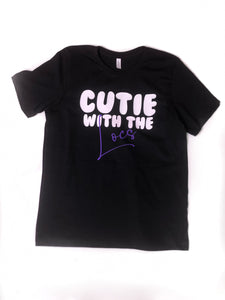 Cutie with the [HAIR] Adults T-Shirt