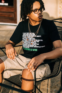 Til Victory is Won/Juneteenth Adults Shirt