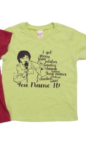 You Name It Kids t-shirt