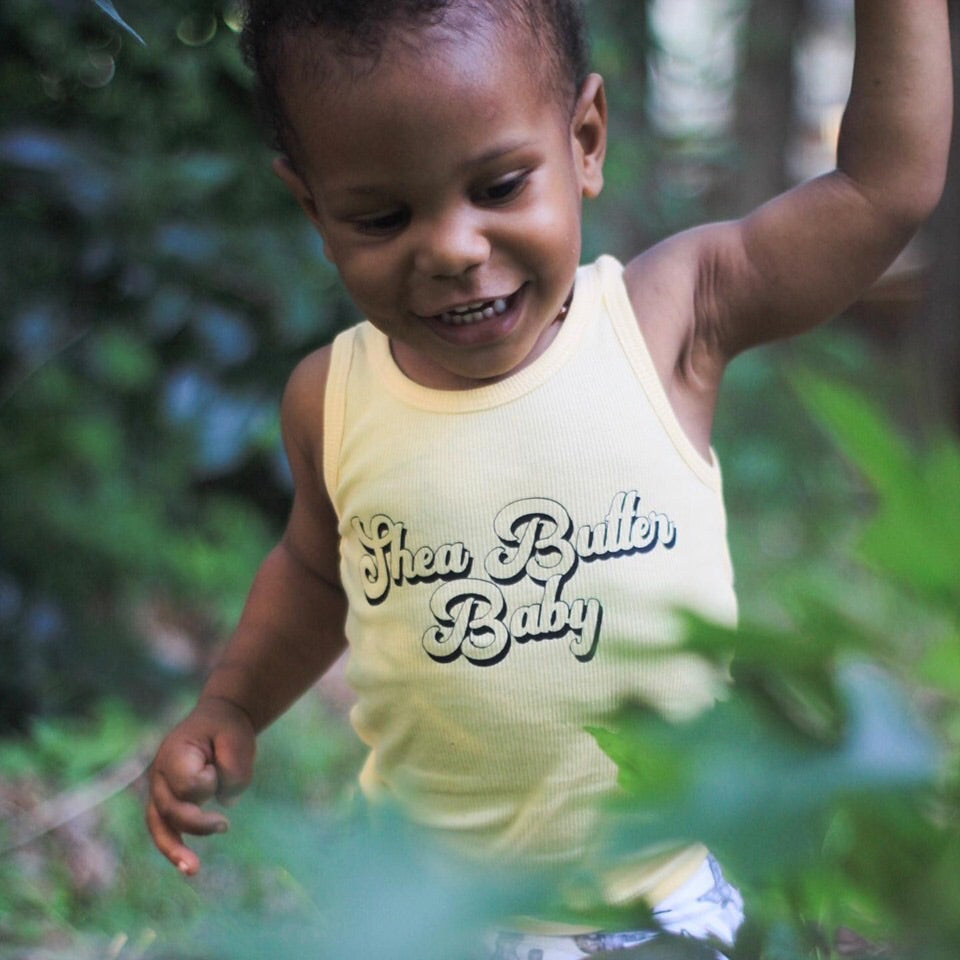 Shea Butter Baby Kids Ribbed Tank