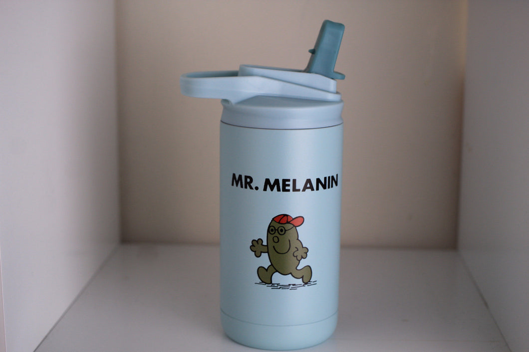 Mr. Melanin 12 oz Kid's water bottle