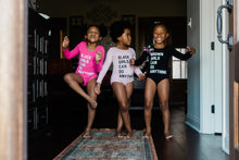 Load image into Gallery viewer, Black/Brown Girls Can Do Anything Kids Leotard