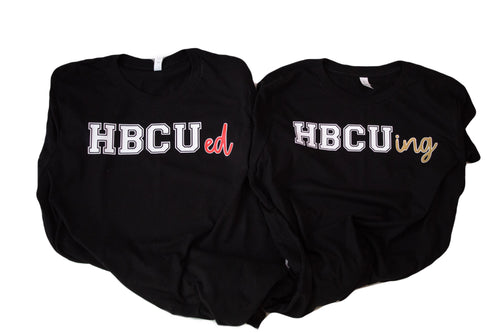 HBCUed and HBCUing Adults T-shirt