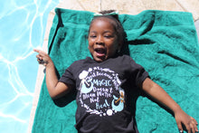 Load image into Gallery viewer, Black Girls are Magic Kids t-shirt