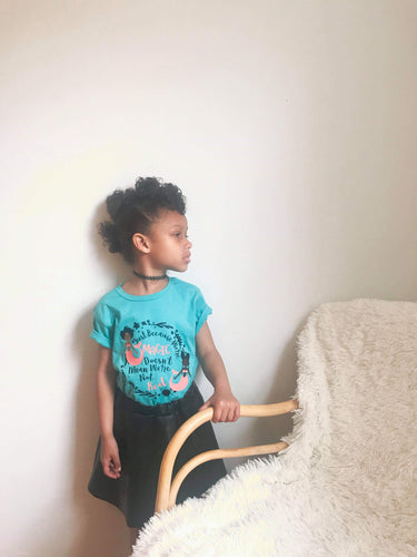 Black Girls are Magic Kids t-shirt