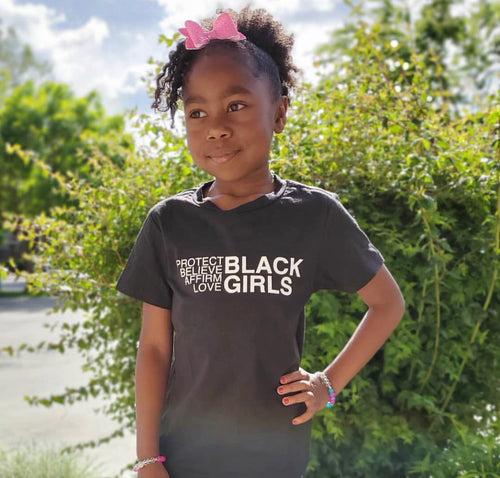 For Black Girls Kids t-shirt